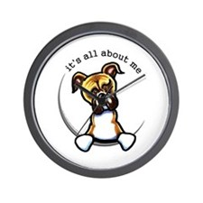Funny Boxer Wall Clock