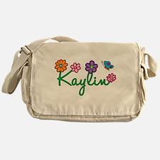 Kaylin Flowers Messenger Bag