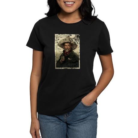 Vintage Cowboy Photo Women's Dark T-Shirt
