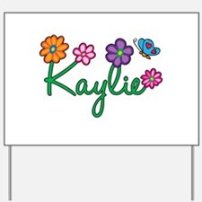 Kaylie Flowers Yard Sign