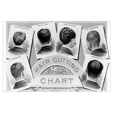 HAIR CUT 11x17 Poster