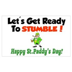 Happy St. Paddy's Day Poster