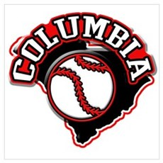 Columbia Baseball Poster