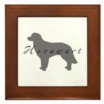 Hovawart Framed Tile