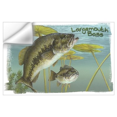 Largemouth Bass, Fish Wall Decal