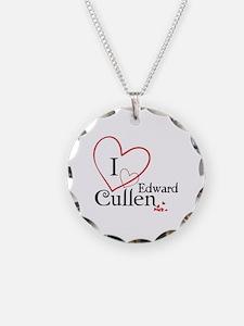 I love Edward Cullen Necklace