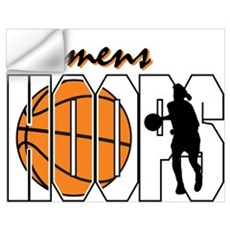 Women's Hoops Wall Decal