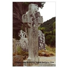 The Cross of St. Kevin Poster