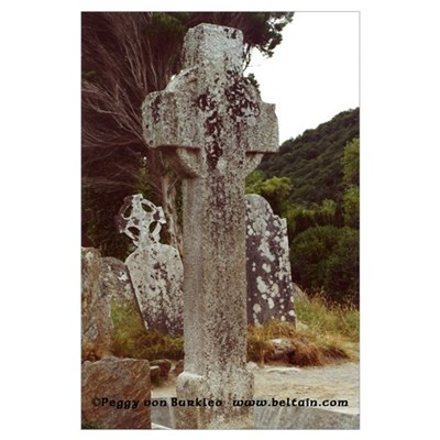 The Cross of St. Kevin Framed Print