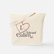 I love Edward Cullen Tote Bag