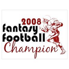 Fantasy Football Champ 2008 Poster