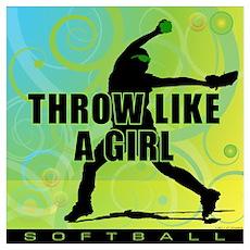 2011 Softball 9 Poster