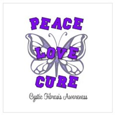 Cystic Fibrosis Butterfly Cur Poster