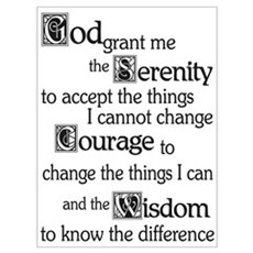SERENITY PRAYER Canvas Art