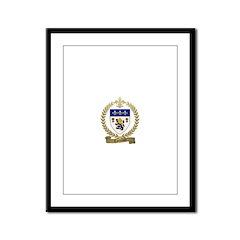 COTTREAU Family Crest Framed Panel Print