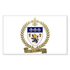 COTTREAU Family Crest Decal