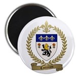 "COTTREAU Family Crest 2.25"" Magnet (100 pack)"