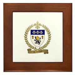 COTTREAU Family Crest Framed Tile