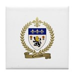 COTTREAU Family Crest Tile Coaster