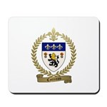 COTTREAU Family Crest Mousepad