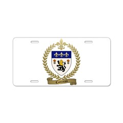 COTTREAU Family Crest Aluminum License Plate
