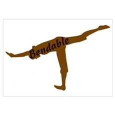 I'm Bendable Poster