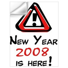 2007 Is Here! Wall Decal