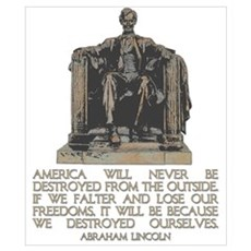 Lincoln: We Destroyed Ourselves Poster