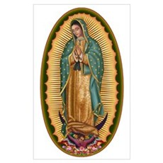 12 Lady of Guadalupe Framed Print