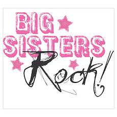 Big Sisters Rock Poster