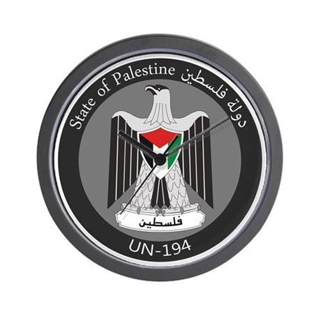 State of Palestine UN 194 Wall Clock