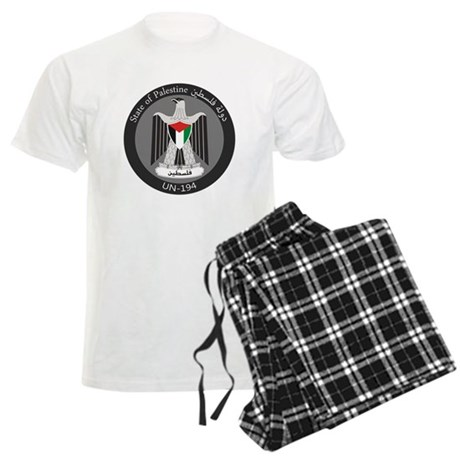 State of Palestine UN 194 Men's Light Pajamas
