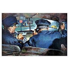 Vintage Police Poster