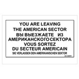 American sector Wrapped Canvas Art