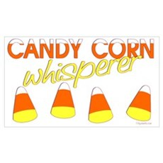 Candy Corn Whisperer Canvas Art