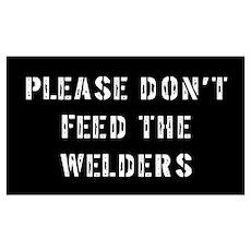 Welder Poster