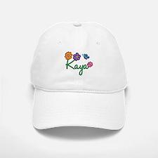 Kaya Flowers Baseball Baseball Cap