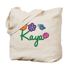 Kaya Flowers Tote Bag