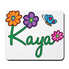 Kaya Flowers Mousepad