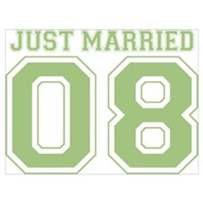 Just Married 08 (Green) Poster