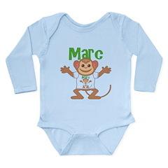 Little Monkey Marc Long Sleeve Infant Bodysuit