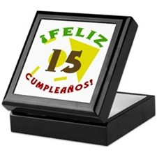 Feliz Cumpleaños (15) Keepsake Box