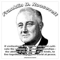Franklin D. Roosevelt 01 Poster