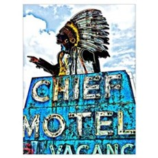 Chief Motel Poster