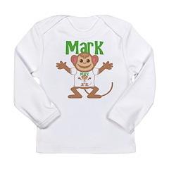 Little Monkey Mark Long Sleeve Infant T-Shirt