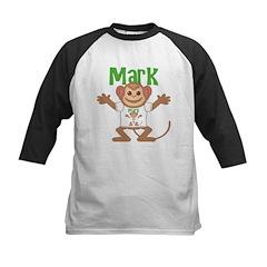 Little Monkey Mark Kids Baseball Jersey