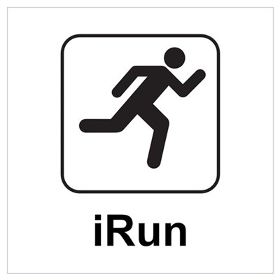 iRun Canvas Art
