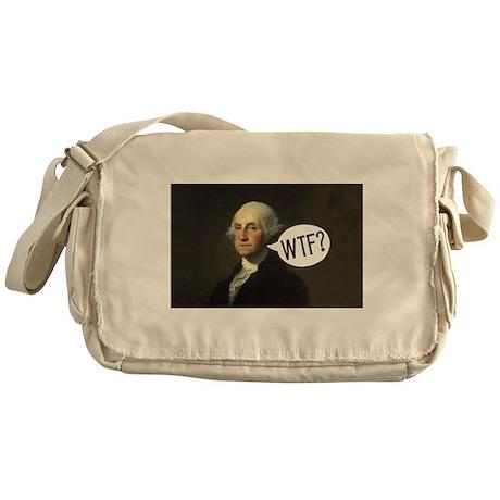 George WTF Messenger Bag