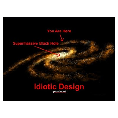Idiotic Design Framed Print
