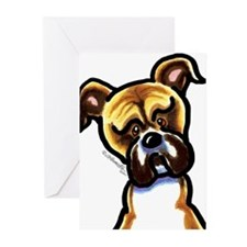 Funny Boxer Greeting Cards (Pk of 10)